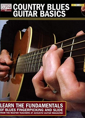 9781890490959: Country Blues Guitar Basics Book/CD (String Letter Publishing) (Acoustic Guitar) (Acoustic Guitar Private Lessons)