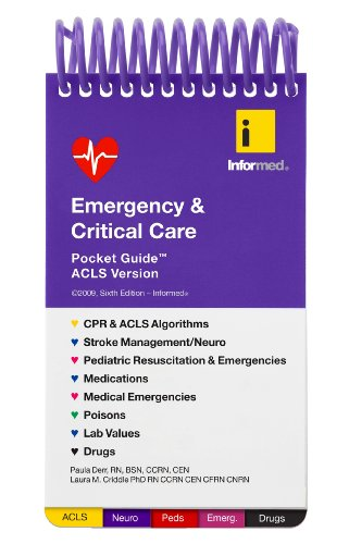 9781890495244: Emergency & Critical Care Pocket Guide