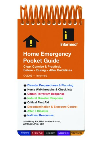9781890495367: Home Emergency Pocket Guide