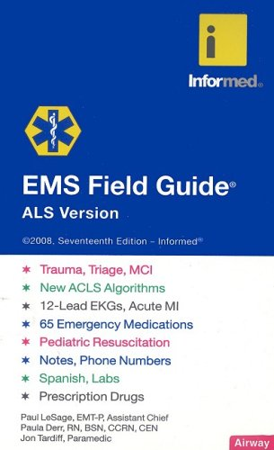 9781890495398: EMS Field Guide: ALS Version