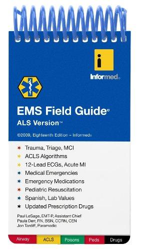 9781890495442: EMS Field Guide ALS Version