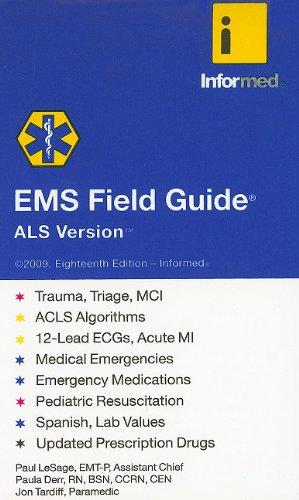 9781890495459: EMS Field Guide, ALS Version
