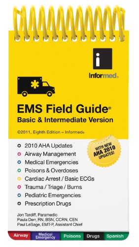 9781890495596: EMS Field Guide, Basic and Intermediate Version