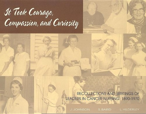 It Took Courage, Compassion, and Curiosity: Johnson, J. B.,