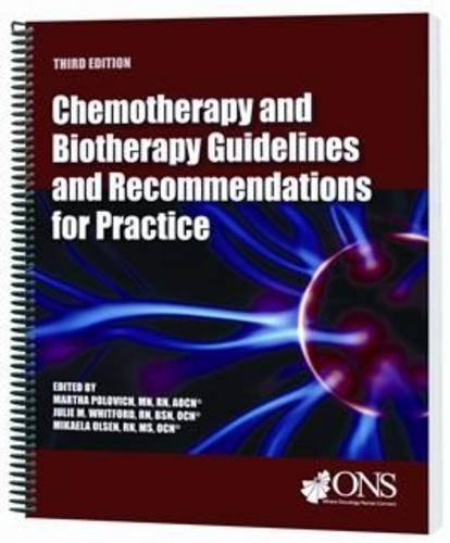 9781890504816: Chemotherapy and Biotherapy Guidelines and Recommendations for Practice