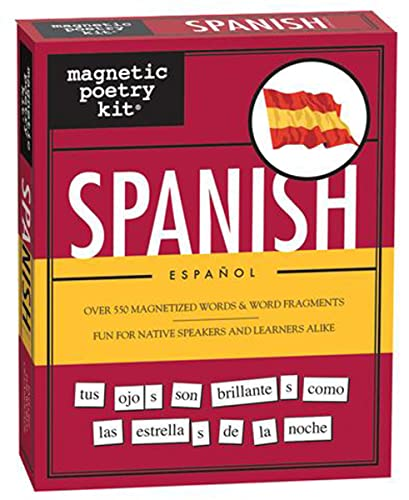 Magnetic Poetry - Spanish Kit (World Series): Magnetic Poetry; Inc., Magnetic Poetry