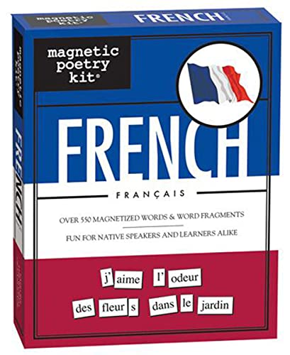 French Magnetic Poetry Kit (French Edition)