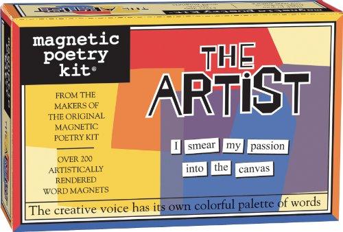 9781890560515: The Artist: Magnetic Poetry Kit