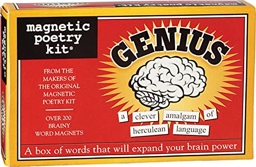 9781890560614: Magnetic Poetry: The Genius