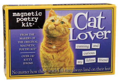 9781890560928: Cat Lover: Magnetic Poetry Kit