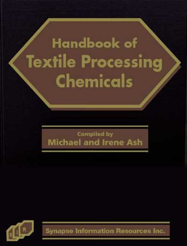 9781890595302: Handbook of Textile Processing Chemicals