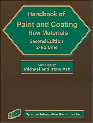 9781890595609: Handbook of Paint and Coating Raw Materials