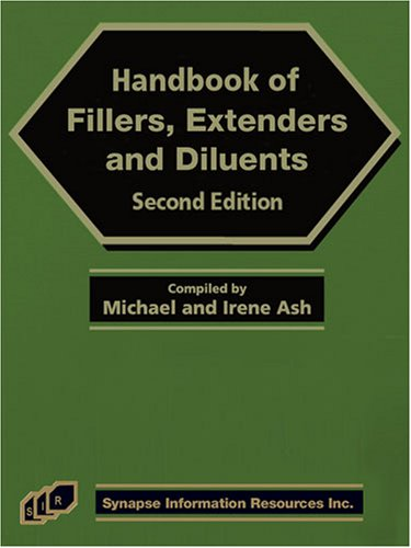 9781890595968: Handbook of Fillers, Extenders, and Diluents, Second Edition