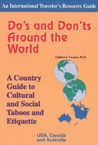 9781890605087: Do's and Don'ts Around the World: USA, Canada and Australia: Country Guide to Cultural and Social Taboos and Etiquette (International Traveler's Resource Guide S.)