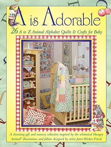 9781890621858 A Is Adorable 26 A To Z Animal Alphabet