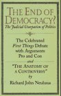 9781890626044: The End of Democracy?: The Celebrated First Things Debate With Arguments Pro and Con and