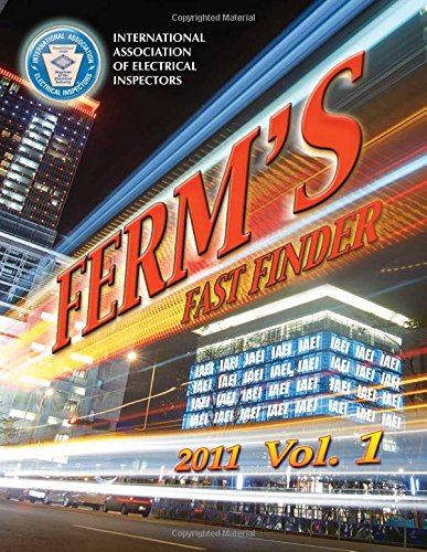 9781890659585: Ferm's Fast Finder Index, NEC-2011