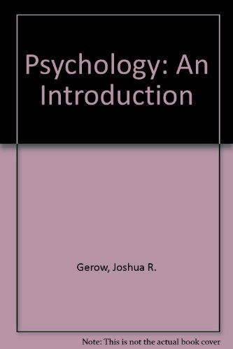 9781890704971: Psychology: An Introduction