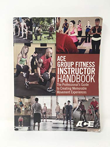 ACE Group Fitness Instructor Handbook 9781890720599 Great condition. No writing or highlighting.