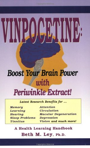 9781890766085: Vinpocetine: Revitalize Your Brain With Periwinkle Extract (Health Learning Handbook)