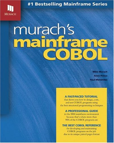 9781890774240: Murach's Mainframe COBOL
