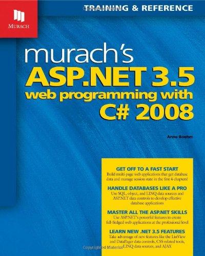9781890774486: Murach's ASP.NET 3.5 Web Programming with C# 2008