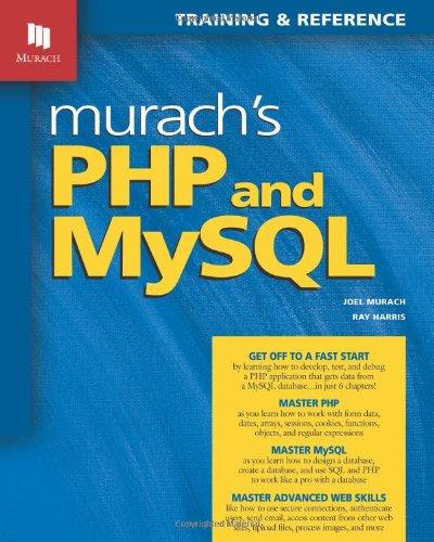 9781890774561: Murach's PHP and MySQL (Murach: Training & Reference)