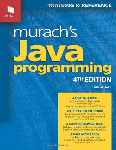 9781890774653: Murach's Java Programming