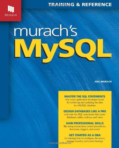 9781890774684: Murach's MySQL