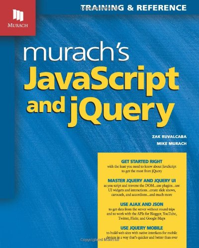 9781890774707: Murach's JavaScript and jQuery