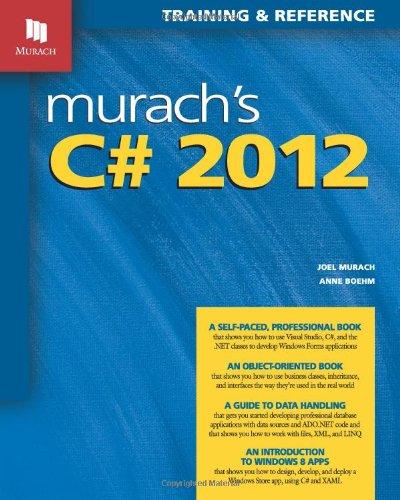 Murach's C# 2012: Murach, Joel; Boehm, Anne