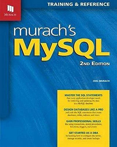 9781890774820: Murachs MySQL