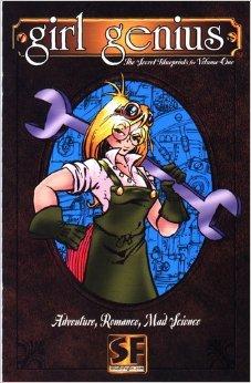 9781890856106: The Secret Blueprints for Volume One (Girl Genius)