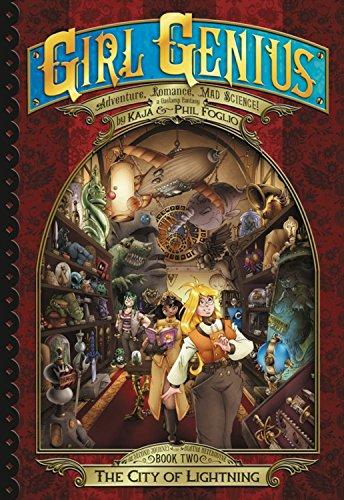 9781890856649: Girl Genius: The Second Journey of Agatha Heterodyne Volume 2: City of Lightning (Girl Genius Second Journey)