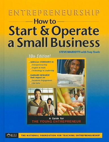 How To Start & Operate A Small: Steve Mariotti, Tony