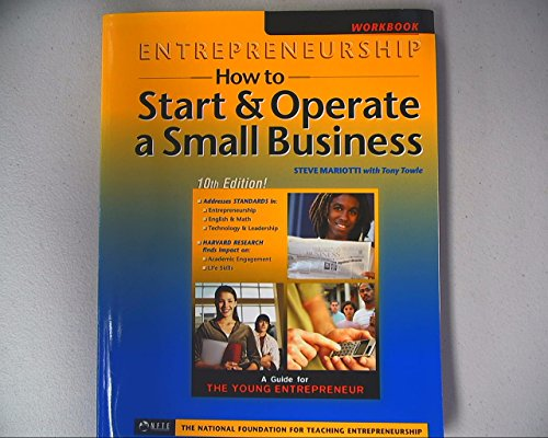 9781890859206: Entrepeneurship: How to Start & Operate a Small Business, Blackline Masters