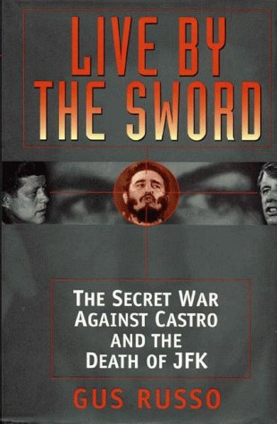 Live by the Sword 9781890862015  Humiliated at the Bay of Pigs, John and Robert Kennedy sought desperately to eliminate Castro. Their strategies for overthrowing the Cuban leader were so elaborate and bizarre, they could only engender paranoia. Castro openly threatened to retaliate.Pro-Castro agitator Lee Harvey Oswald learned that Robert Kennedy was personally supervising groups plotting against the Cuban leader. Filled with rage and a sense of destiny, Oswald went to the Cuban embassy in Mexico, announcing he would kill America's president in exchange for sanctuary in Havana. Live By the Sword forces the conclusion that members of the Cuban regime accepted the troubled American's offer. Russo shows that Oswald was indeed JFK's lone assailant, but that after the president's murder, a devastated Robert Kennedy and key officials launched a comprehensive coverup to hide its true causes.Gus Russo, based in Baltimore, Maryland, has reported for acclaimed ABC and PBS documentaries on JFK, and done research for authors Gerald Posner, Seymour Hersh, and Anthony Summers. Exhaustively researched, Live by the Sword ends 35 years of public mistrust and confusion over the Kennedy assassination.