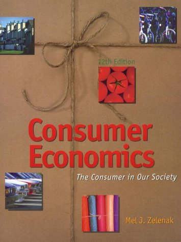 9781890871062: Consumer Economics: The Consumer in Our Society