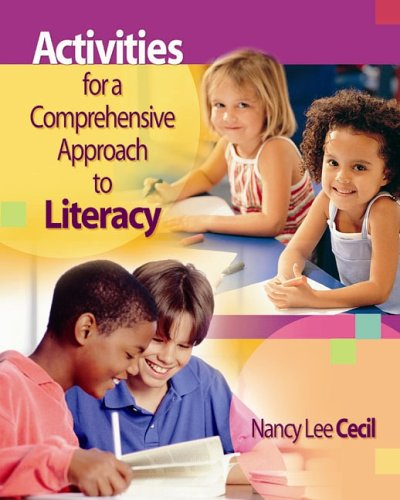 9781890871529: Activities for a Comprehensive Approach to Literacy