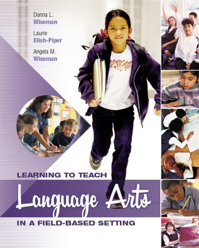 9781890871604: Learning to Teach Language Arts in a Field-Based Setting