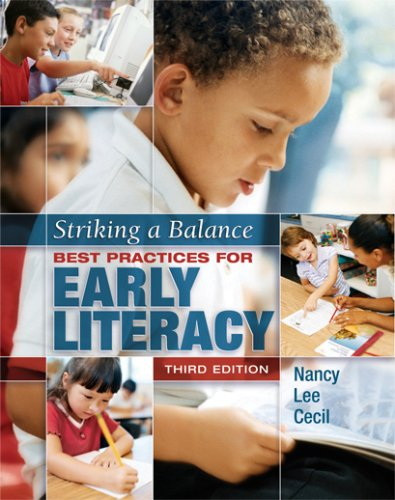 9781890871789: Striking a Balance: Best Practices for Early Literacy