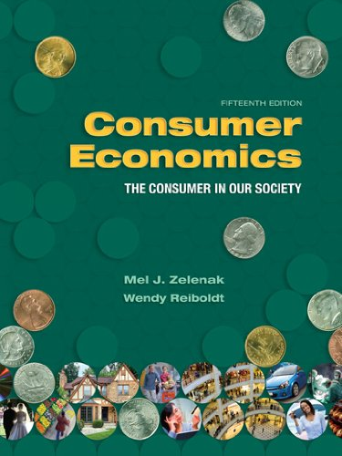 9781890871949: Consumer Economics: The Consumer in Our Society