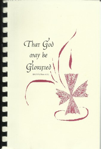 9781890890063: That God May Be Glorified: Liturgy of the Hours: An Inclusive Language Setting