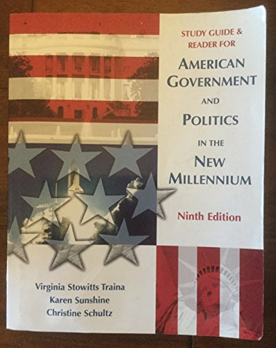 9781890919047: American Government And Politics In The New Millennium Ninth Edition Study Guide and Reader