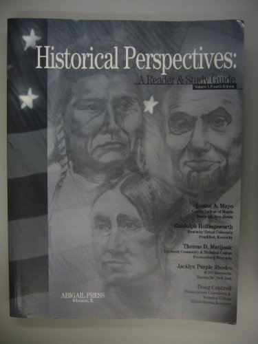 9781890919320: Historical Perspectives : A Reader and Study Guide