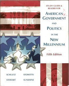 9781890919382: Study Guide & Reader For American Government and Politics In the New Millennium Fifth Edition