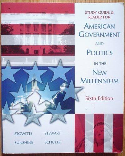 American Government and Politics in the New: Christine Schultz, Theresita