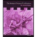 9781890919511: Western Dreams of Civilization, the Journey Begins