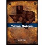 9781890919610: Texas Voices