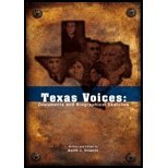 9781890919610: Texas Voices